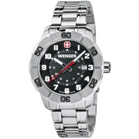 Wenger Men's 0851.102 Roadster Stainless Steel Watch
