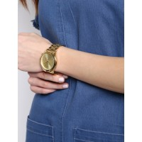 Michael Kors Access Women's Slim Runway Hybrid Gold-Tone Smart Watch MKT4002