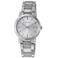 Burberry Men's BU9000 Large Check Stainless Steel Bracelet Watch