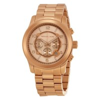 Michael Kors Chronograph Rose Gold-tone Men's Watch MK8096