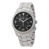 Michael Kors Watches Gareth Stainless Steel Chrono Watch 8469