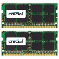 Kit Ram Crucial 16GB (8GBx2) DDR3 PC3-12800