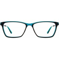 Scott Harris SH522 C3 Teal/Black Women Eyeglasses