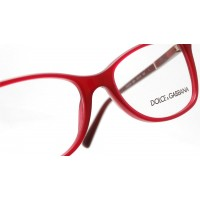 Dolce & Gabbana Logo Plaque Red DG3219 2681 Eyeglasses