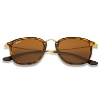 Ray-Ban RB2448N 710 Square Shape Brown Classic B-15