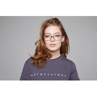 Ray-Ban RB7047 5768 Transparent Eyeglasses
