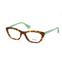 Prada  VPR 03Q UEZ-101 Eyeglasses Brown