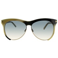 Tom Ford TF 365 60B Leona Sunglasses