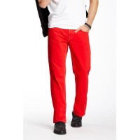 True Religion Red Basic Straight W/Flaps
