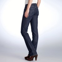 Bold Curve Levi's® Straight Cut Denim for Brooks Brothers