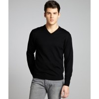 Brooks Brothers Merino V-Neck Sweater Men's