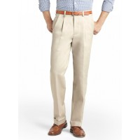 IZOD DOUBLE PLEAT PANT CLASSIC FIT MENS