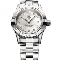 Tag Heuer Women's Aquaracer White Diamond WAF1415