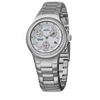 Movado Women's 'Series 800' Stainless Steel Chronograph Quartz Watch