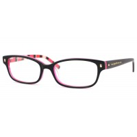 Kate Spade Lucyann 0X78 Black Pink Striped Eyeglasses