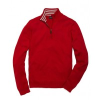 Brooks Brothers Supima® Half-Zip Sweater